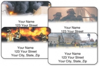 Click on Fire & Rescue Address Labels For More Details