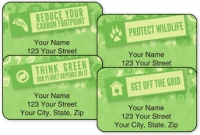 Click on Green Routine Address Labels For More Details