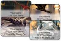 Click on Dragons by Ciruelo Address Labels For More Details