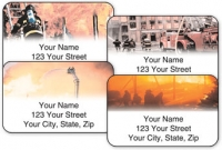 Click on Firefighter Address Labels For More Details