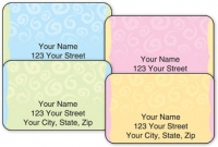 Click on Swirls Address Labels For More Details