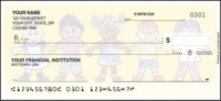 Click on Kids - 1 box Personal Checks For More Details