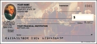 Click on Founding Fathers - 1 box Personal Checks For More Details