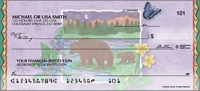 Click on Northwoods Scenic - 1 Box Personal Checks For More Details